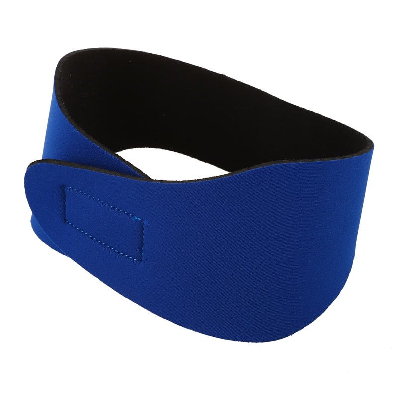 Swimming Ear Hair Band For Women Men Adult Children Neoprene Ear Band Swimming Headband Water Protector Gear Head Band(blue/M)