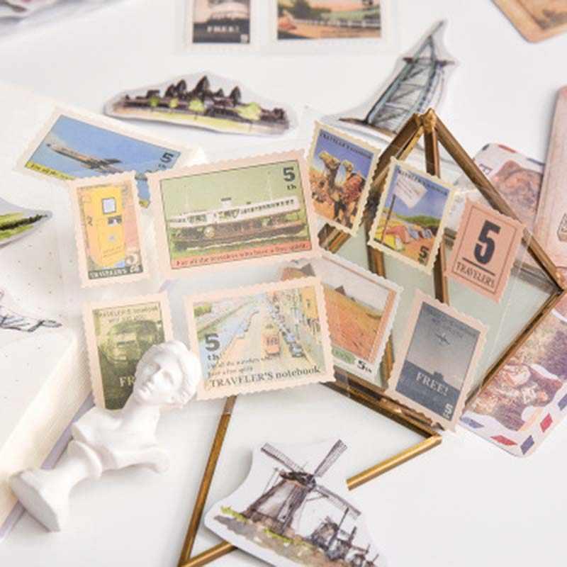 Paesaggio Serie Fai da Te Scrapbooking Adesivi Decorazione 1Pack