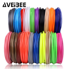 3d printing filament plastic for pen No pollution abs pla 10 20 colors materials kids birthday gifts 3 D school supplies