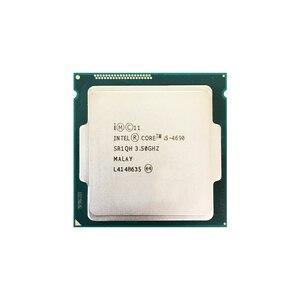Процессор Intel Core i5 4690 cpu 3,50 ГГц Socket 1150 четырехъядерный настольный процессор SR1QH