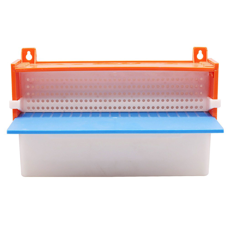 2 SET Bee Tool European Beekeeping Tools European Plastic Powder Box Pollen Collector 350 *175*68mm Carton Independent Packaging