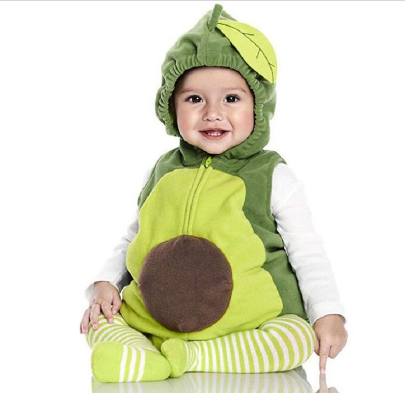 Одежда для маленьких девочек; карнавальный костюм на Хэллоуин с изображением единорога и фруктов; Одежда для новорожденных мальчиков; Рождественский подарок; комплект одежды для младенцев - Цвет: 5