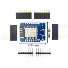 50pcs D1 mini   Mini 4M bytes Lua WIFI Internet of Things development board based ESP8266 by WeMos
