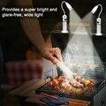 Ультра-яркая подсветка для решетки радиатора для барбекю Магнитная база 2 шт. светодиодные фонари для барбекю  в комплекте 2 батареи (перезар...