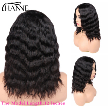 HANNE Hair Human Hair Wigs Loose Deep Wave Wigs Middle