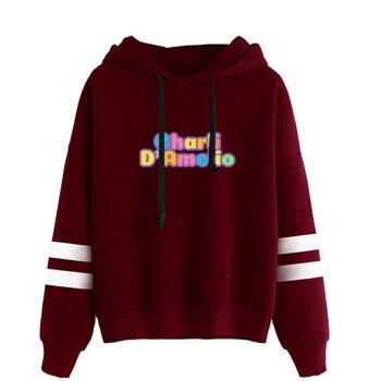 charli damelio merch Sweatshirt Men/Women Print Ice Coffee Splatter Hoodies Fashion Hip Hop hoodie Pullovers Tracksuit Clothes 16