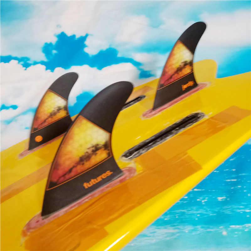 """Surfplank Vinnen TOEKOMST Vinnen """"Jordy"""" Tri fin Set voor TOEKOMSTIGE doos Opruiming-Koop glasvezel bamboe Hot verkoop surf Fin"""