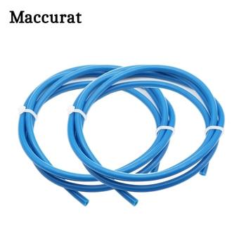 цены Maccurat 1 Meter Blue PTFE Tube Teflon PiPe 3D Printer Parts 2mm*4mm Teflon For RepRap J-head Hotend Bowden Extruder 1.75mm 2