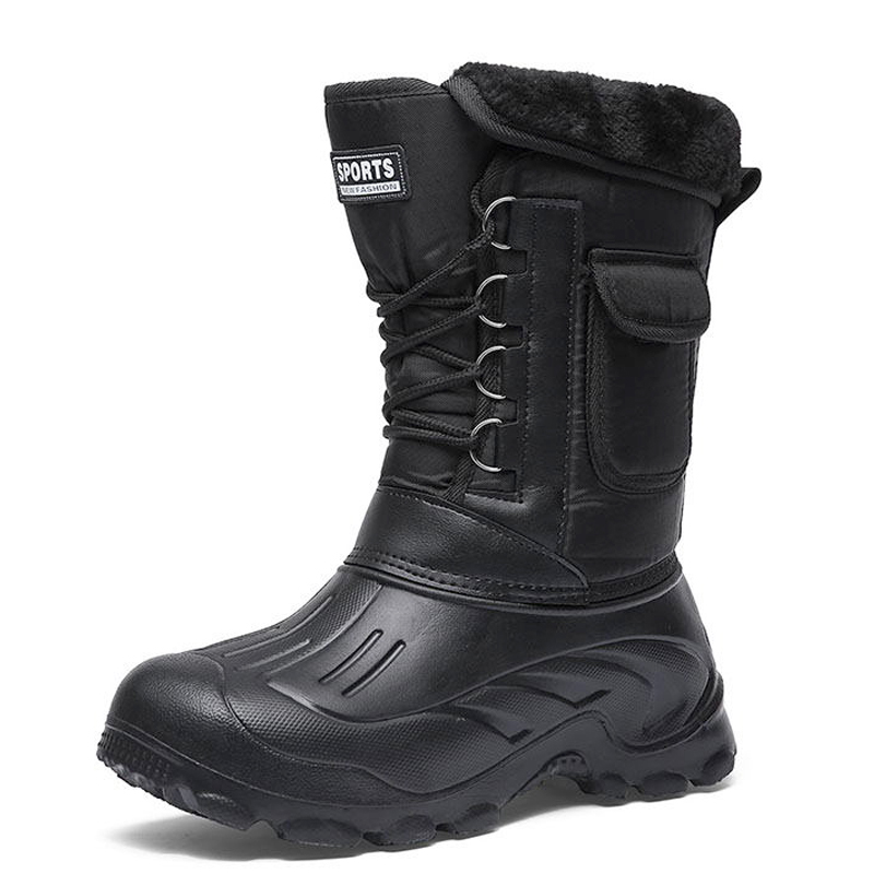 Мужские зимние ботинки, теплые водонепроницаемые кроссовки 2020, для активного отдыха, рыбалки, снега, рабочие ботинки, мужская обувь, рыболов...