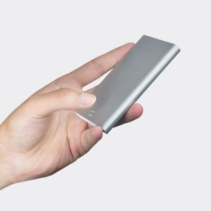 Image 5 - Orijinal Youpin kart durumda otomatik Pop Up erkekler iş kart tutucu İnce alüminyum kart durumda kredi kartı kimlik kartı depolama kaleci