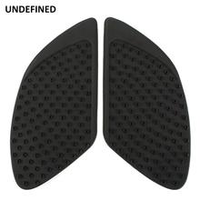 Black Stickers Moto Tank Traction Pad Side Gas Knee Grip Protector Decal for Honda CBR650f CBR 250R 600 1100RR 1000RR