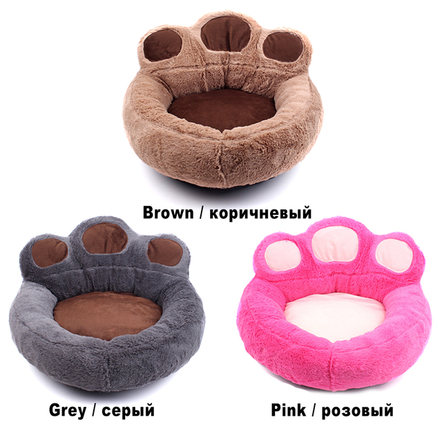 Pet Cat Bed House for Cats Basket Mat Winter Warm Plush Beds Lounger for Cat Panier Pet Bed Products for Cats Cama para Gato 2