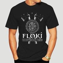 2018 nova marca de moda roupas floki loki viking camiseta nórdico deuses camisa masculina em torno do pescoço roupas 9390a