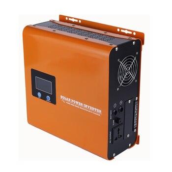 Off Grid Dc Ac Pure Sine Wave 12V 24V DC 50Hz 60Hz 110V 120V 220V 230V DC 1000VA 700w Solar Power Inverter charger 1500w solar off grid pure sine wave power inverter dc24v to ac220v 50hz peak 3000w dual digital display
