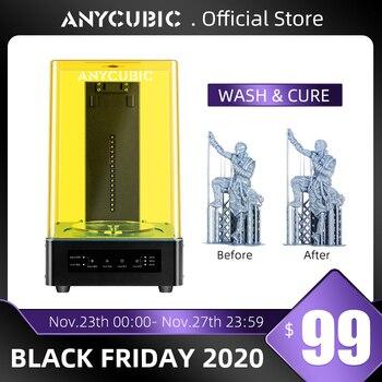 Anycubic-máquina de curado de resina 3D, máquina de lavado y curado de...