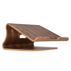 Chłodzenie drewniany Laptop Notebook drewniany stojak uchwyt wspornik chłodnicy do komputera przenośnego Apple Macbook Hp