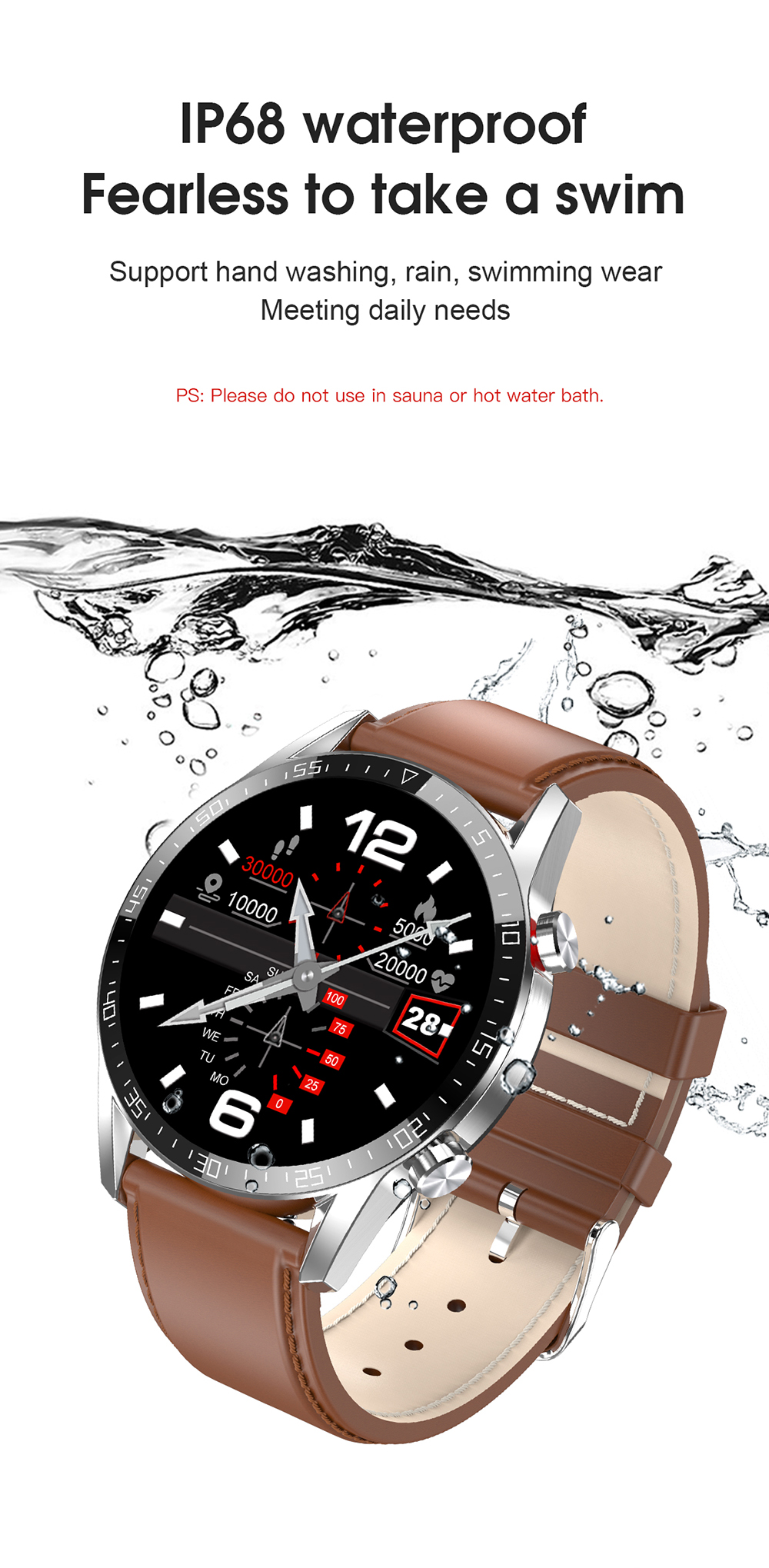 Hf7eb475f0f8f467fb1a55faf97dc11c97 Reloj Inteligente Hombre Smart Watch Men 2020 Android IP68 Smartwatch Answer Call Smart Watch Man For Huawei Android Apple Phone