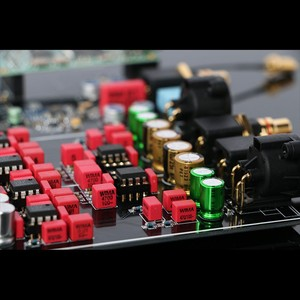Image 4 - TZT Dual ES9038PRO Decoder Board DAC Board DSD 384K /Amanero USB /Bluetooth 5.0 Lossless Fiber Coaxial Decoder