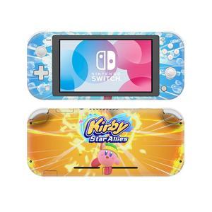 Image 3 - קירבי כוכב בעלי ברית NintendoSwitch עור מדבקת מדבקות כיסוי עבור Nintendo מתג לייט מגן Nintend מתג Lite עור מדבקה