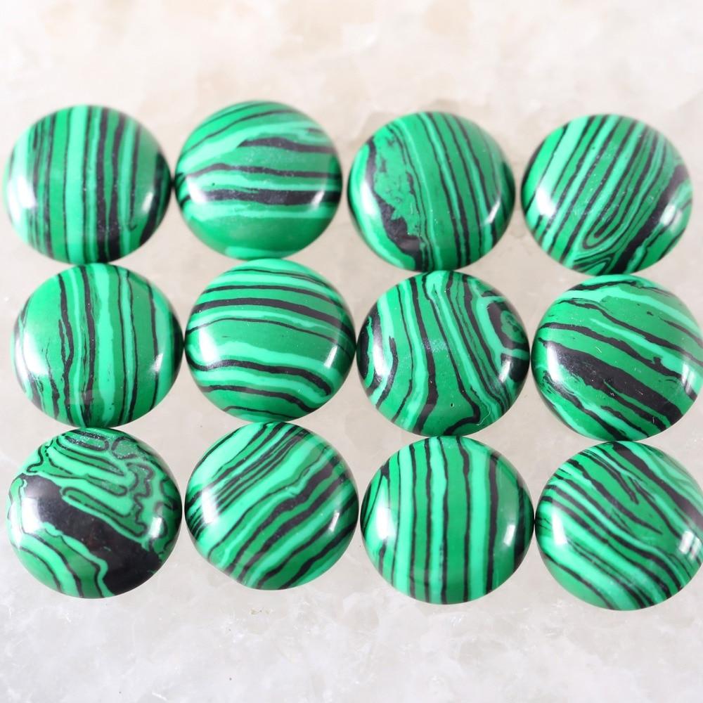 27.65 Cts. 27x17x6.5 mm Natural Dark Green Malachite Cabochon Teardrop Shape Pendant size Cab