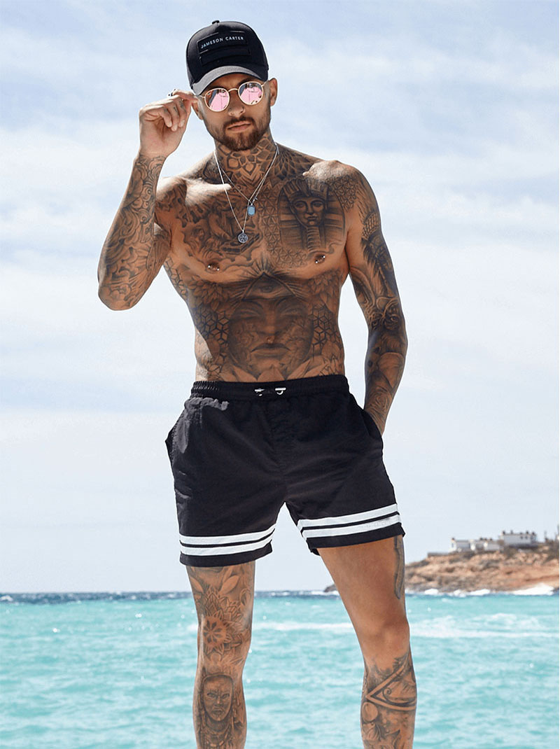 Brand Shorts Men Pocket Casual Mens Shorts Fast Dry Boardshorts Joggers Men's Trunks Summer Mens Short homme masculino clothing