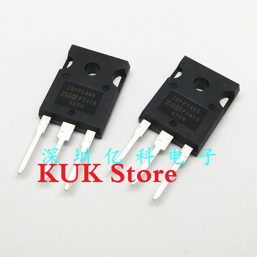 Real 100% Original NEW IRFP1405 IRFP1405PBF 55V 160A MOSFET TO-247 10PCS/LOT