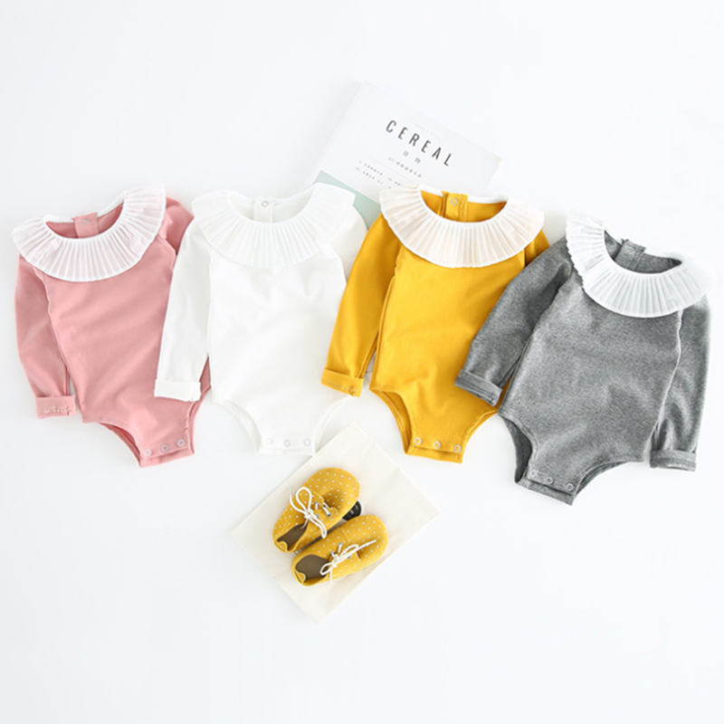 Hf7eba3ecb51b4ed28bf0f9d3cd996353a Baby Girl Romper 0-2Y Autumn Winter Newborn Baby Clothes For Girls Long Sleeve Kids Boys Jumpsuit Baby Boys Outfits Clothes