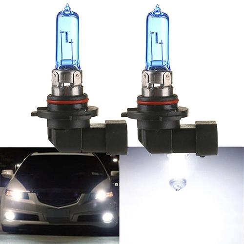 2Pcs 100W 12V 9005/HB3 6000K Xenon Gas Halogen Headlight Lamp Bulbs