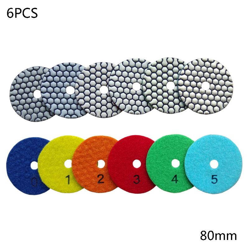 Dry Diamond Polishing Pads For Dry Or Wet Polishing Granite,Marble Engineered Stone And Concrete
