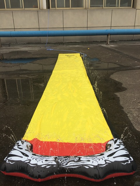 Inflatable Water Slide Swimming Pool 4
