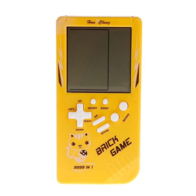 Big Screen Classic Handheld Game Machine Tetris Brick Game Kids Game Machine 26 Games X5XE