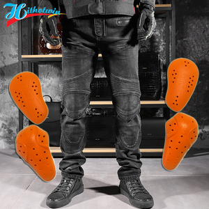 Image 1 - 2020 New 718 Motorcycle Pants Men Moto Jeans Protective Gear Riding Touring Motorbike Trousers Motocross Pants Moto Pants S 5XL