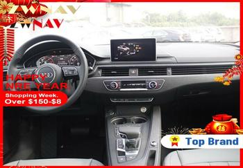 2Din 10.5Quad Core Android6.0 Car No DVD Player Multimedia Stereo Car Radio Receive GPS Navigation Music For AUDI A4L 2017 2018 image