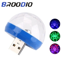 USB Disco Light LED Sound Home Party Lights Ball Led Stage Spotlights For Disco Lighting Led Karaoke DJ Party Led Christmas