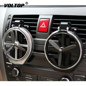 Image 2 - Propeller Folding Cup Holder Adjustable Drinks Holder Car Accessorie Beverage Bottle Can Stand with Cooling Fan