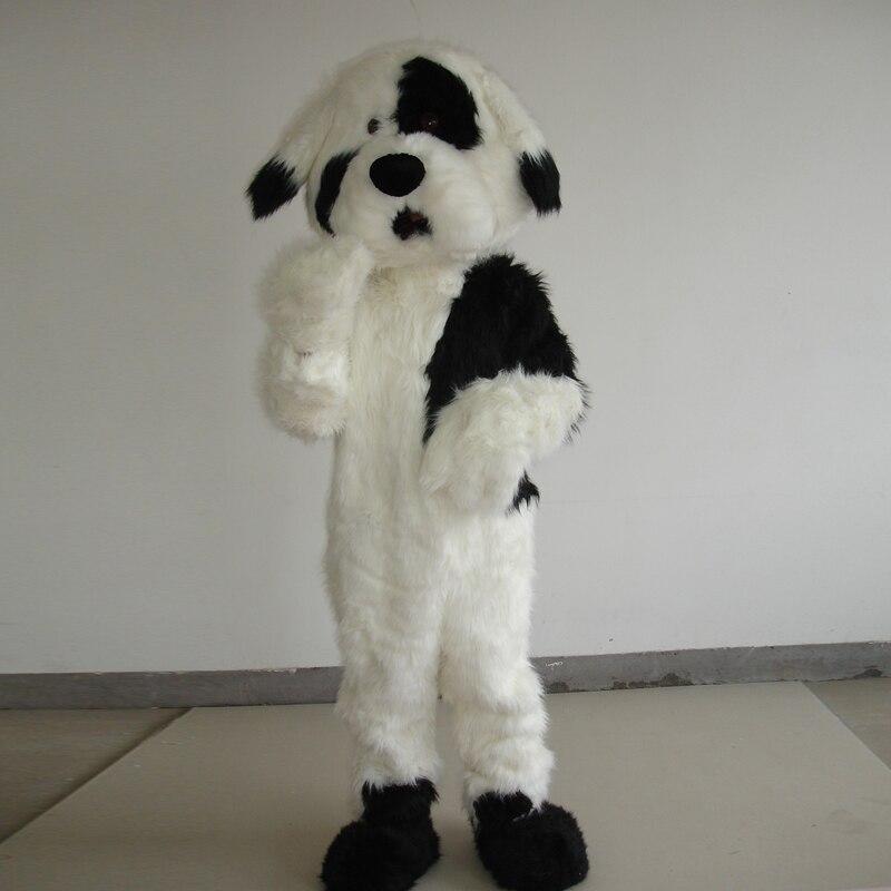 Cão mascote traje cosplay para o dia das bruxas