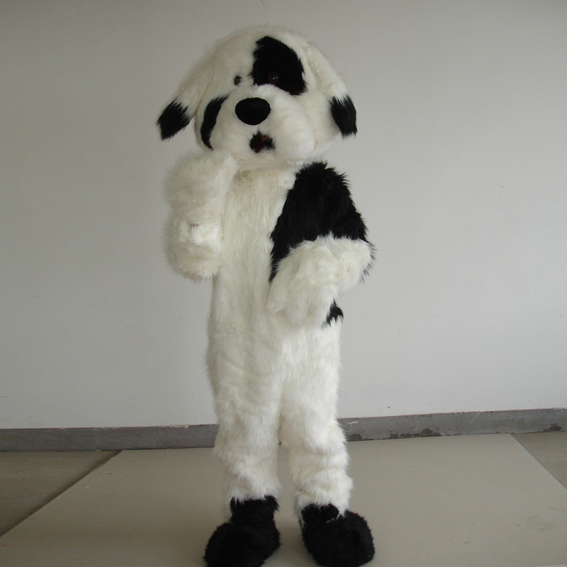 Mascotte chien costume cosplay pour halloween