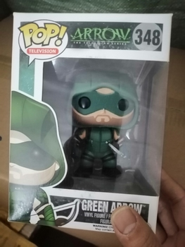 Funko pop Official DC The Green Arrow - Oliver Queen The Arrow Vinyl Figure Collectible Model Toy with Original box