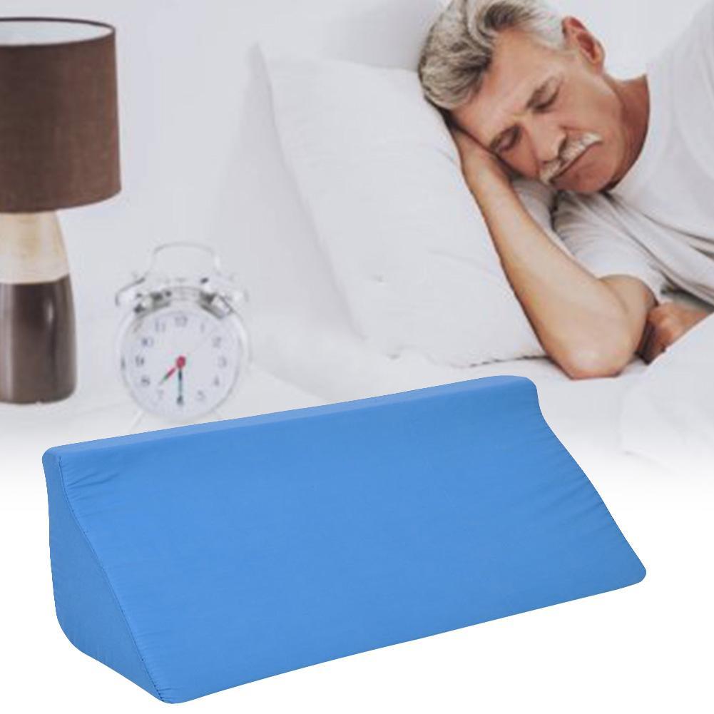 Memory Foam Triangular Shape Pad Pillow Gradual Slope Side Body Waist Neck Leg Protection Cushion Sponge Orthopedic Mat Pillows