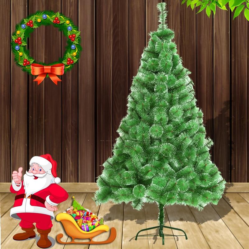 Рождественская Белоснежка сосновая игла 150 см Высококачественная Рождественская елка пятно Белоснежка импортные материалы домашний декор