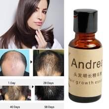 Andrea serum na porost włosów 20ml ziołowe keratyny szybki wzrost włosów łysienie utrata cieczy imbir Sunburst Yuda Pilatory Oil