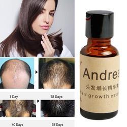 Andrea crescimento do cabelo soro óleo 20ml queratina erval rápido crescimento do cabelo perda de alopecia gengibre líquido sunburst yuda pilatory óleo