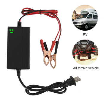 Car Battery Maintainer Charger Tender 12V Portable Auto Trickle Boat Motorcycle Automatic Car Battery Charger image