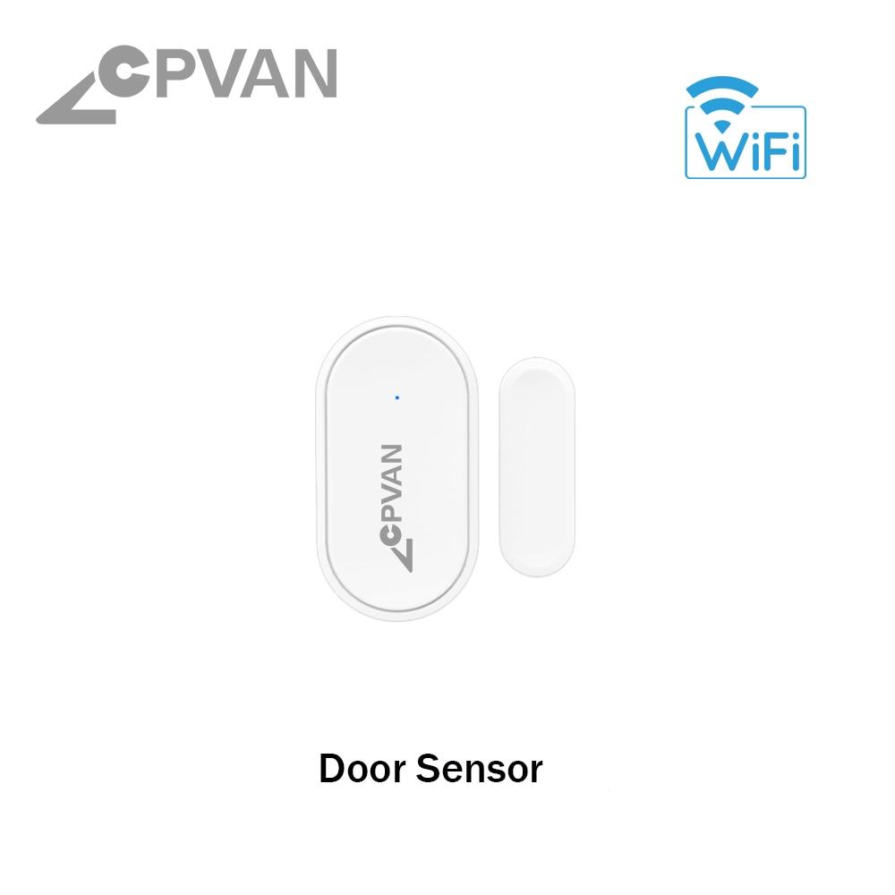 Hf7ed1b540a6040cc82680297a8541ea4A - CPVAN Wireless Doorbell Alarm System Smart WIFI Doorbell Strobe Siren Tuya App 58 Sound Compatible Home Security Alarm System
