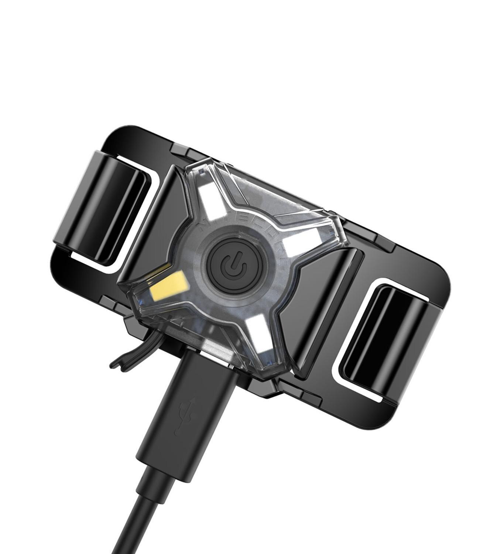 NITECORE NU05 LE USB phare de charge 4 * rouge vert bleu blanc led Sports de plein air phare intégré li batterie Mini lampe frontale