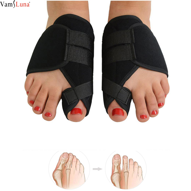 2pcs Soft Bunion Corrector Toe Separator Splint Correction Medical Straightener Hallux Valgus Foot Care  Pedicure Orthotics
