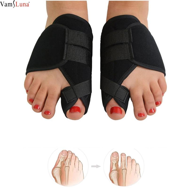 2pcs Soft Bunion Corrector Toe Separator Splint Correction Medical Straightener Hallux Valgus Foot Care  Pedicure Orthotics