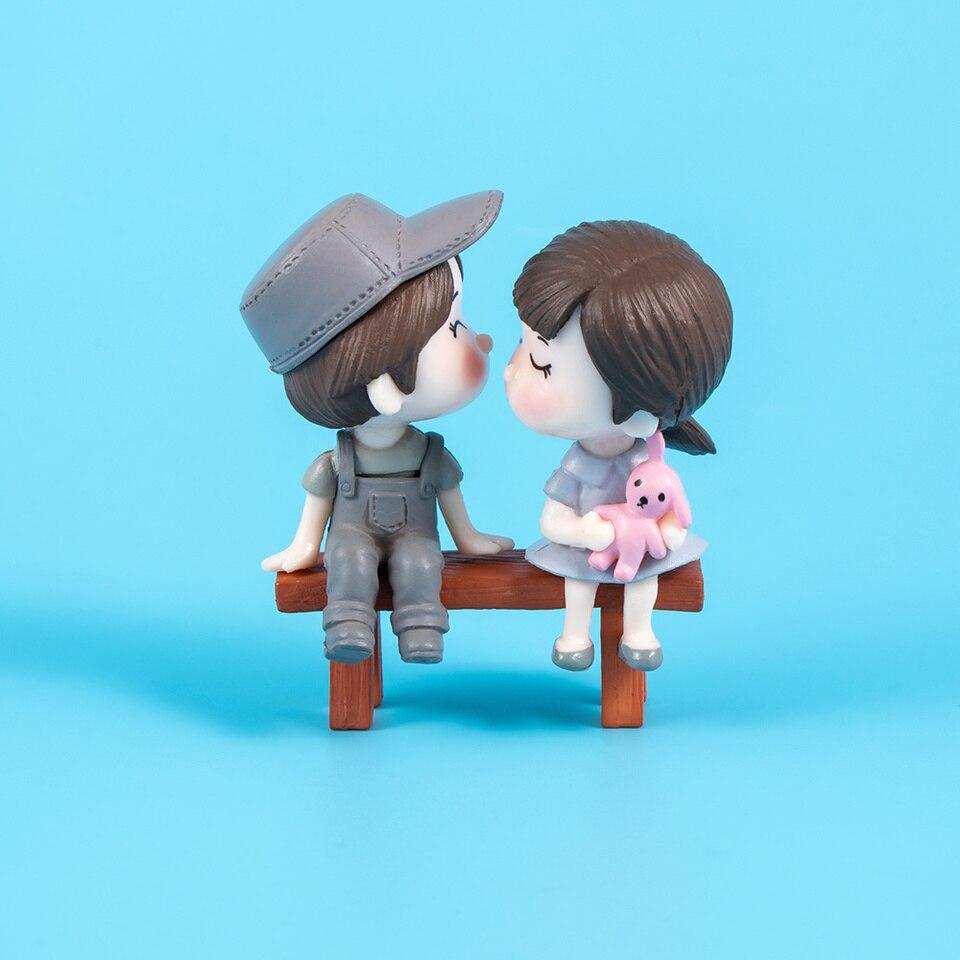 5pcs Mini Stool Fairy Garden Miniatures Decor Dollhouse DIY Micro Landscape I xo