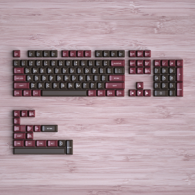 1 Set Maxkey Retor SA Keycaps Set Double Shot Mechanical Keyboard Key Cap SA Height ABS Material