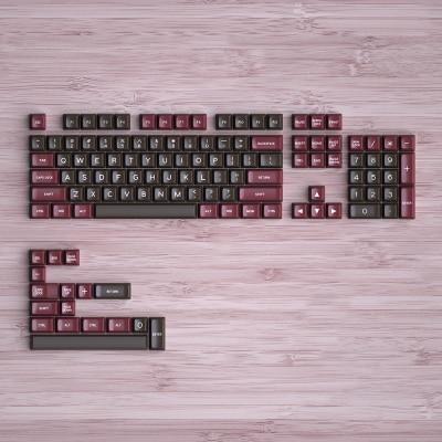1 Set Maxkey Retor SA Keycaps Set Double Shot Mechanical Keyboard Key Cap SA Height ABS Material
